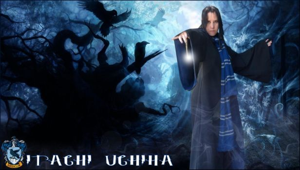 Itachi of Ravenclaw by pikabellechu