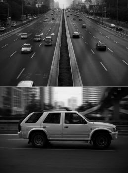 Chasing car by shuttershade