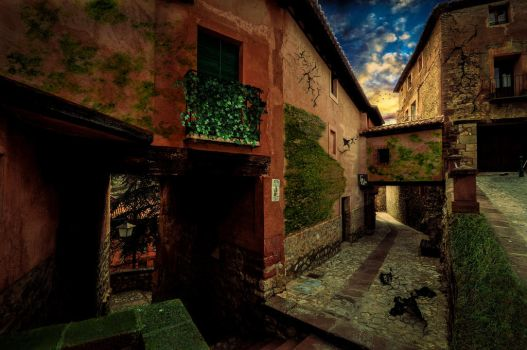 Abandoned Street by BarisSo