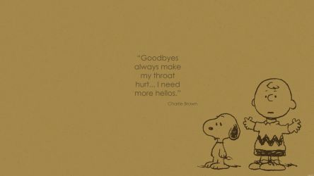 Wallpaper Charlie Brown quote 1 by rmck2