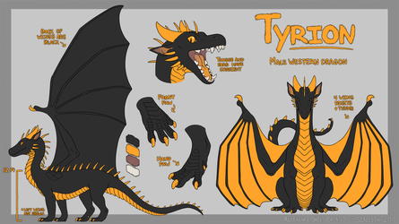 [C] Tyrion Reference Sheet by Scaleeth