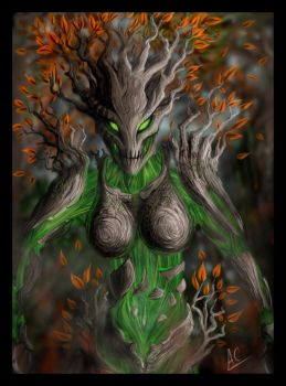 Tree guardian by froggywoggy11