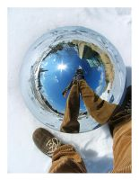 the world at our feet by fahrmboy