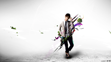 Changmin - DBSK - WP 46 by udooboo