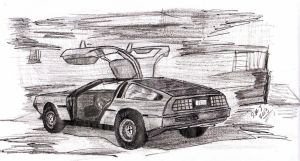 DeLorean Practice by smjblessing