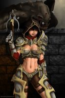 Diablo 3 Demon Hunter by DwarfVader23
