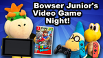 SML Thumbnail: Bowser Junior's Video Game Night! by HassanLechkar