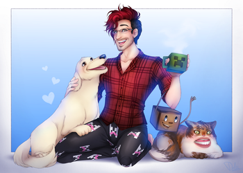 Markiplier Dedication! (Ft. Friends!) by Maxxie-Delu