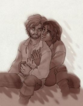 More Sunny Days [Athos and d'Artagnan] by ProfDrLachfinger