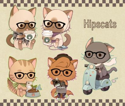 more Hipscats by Radittz