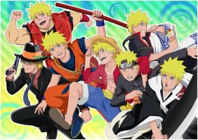 NARUTO Cosplay Mania by LadyGT