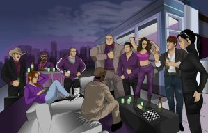 Penthouse Party by adsta