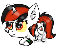 Chibi Blackjack by SpokenMind93