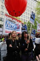 May 18th 2013 - Save the NHS: 24 by LouHartphotography