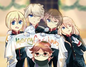 Contest Entry   Haine and his dear princes by CKaitlyn