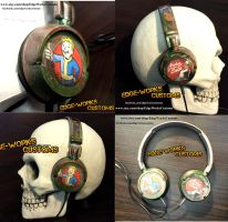 Fallout Sony Headphones by Edge-Works