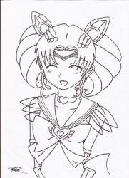 Art Request By Lil-yy Chibiusa Colour In by Pengu-san