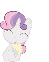 Cute Sweetie belle by Izeer