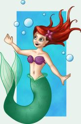 Sketch no1 - Ariel by ricoche