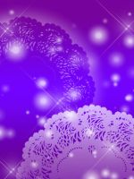 FREE: Purple-Indigo Lace Background by Magical-Mama