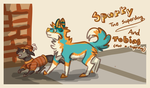 The Thrilling Adventures of Sparky And Tobias by Yialo