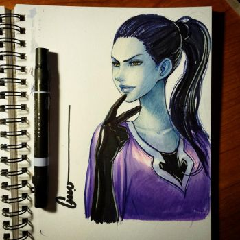 Widowmaker Cas' by Omar-Dogan