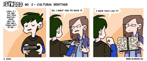 ISYWOODSTRIP No. 2 - Cultural Heritage by isagross