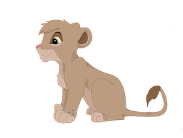 Lion cub by Paint-Puff