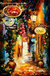 Vibratioins Of The Time by Leonid Afremov by Leonidafremov