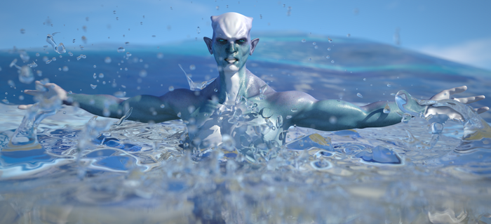 Creature of the Sea by EJDM