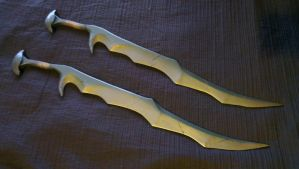 Skyrim Orcish Swords WIP by TheAnti-Lily
