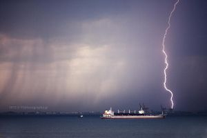 Sudden storm by PinkFishGR