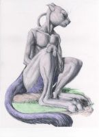 Mewtwo by chained2stone