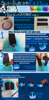 FURSUIT TUTORIAL: Sewing Elastic Onto Your Tail by TECHNlCOLOUR