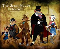 The Great Steampunk Detective by ALS123