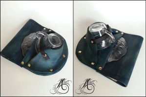 Leather Teacup Holster by JAFantasyArt