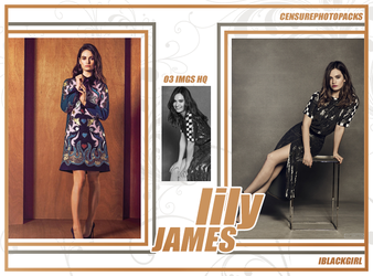 // PHOTOPACK 2665 - LILY JAMES // by censurephotopacks