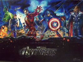 The Avengers by Dry89