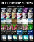 30 photoshop actions by candymax-stock