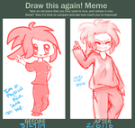 Draw this again! Meme by Yuzuvee