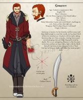Garroway - Character Sheet by biancaloran