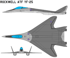 Rockwell ATF YF-25 by bagera3005