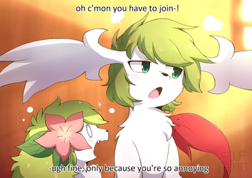 Shaymin by mien-soup