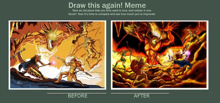 Draw this again: Demon of the Deep 2005-2010 by JMonteiro
