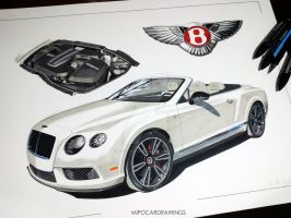 Bentley Continental by Mipo-Design