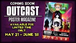 OUTCAST POSTER MAGAZINE COMING SOON by OUTCASTComix