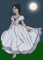 Mary Todd's Moonlight Stroll by FullMoonMaster