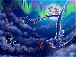 Flying into the dreams by AwelRaven
