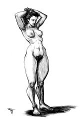Nude Study 083116 by thetimo