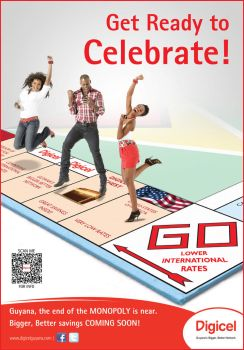 Digicel Monopoly Ad Celebrate by jlampley
